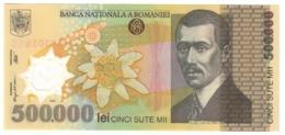 Romania 500000 Lei 2001 UNC .PL. - Romania