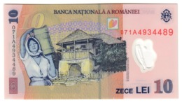 Romania 10 Lei 2007 UNC .PL. - Romania