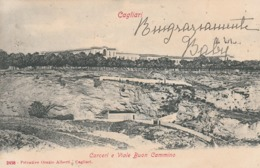 CAGLIARI - CARCERI E VIALE BUON CAMMINO - Cagliari