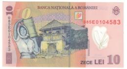 Romania 10 Lei 2008 UNC .PL. - Romania
