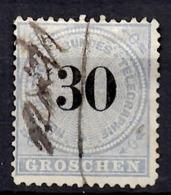 Conf. Allemagne Nord Télégraphe YT N° 8 Oblitéré. B/TB. A Saisir! - Conf. De L' All. Du Nord