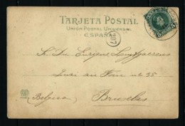 España (S) Nº 242 Postal Circulada - Spain