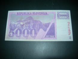 Slovenia 5000 Tolarjev - Eslovenia