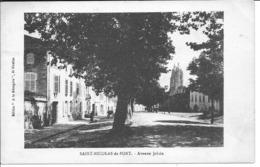 SAINT NICOLAS DE PORT - Avenue Jolain - Saint Nicolas De Port