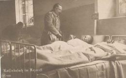 Kaiserbesuch Im Lazarett  (der Deutsche Kaiser) (Deutschland) (type Fotokarte) - Allemagne