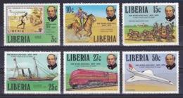 Liberia - 1979 - ( Sir Rowland Hill (1795-1879), Originator Of Penny Postage ) - Complete Set - MNH** - Liberia
