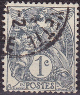 France Type Blanc N°107 Année 1900 Oblitéré TB - Used Stamps