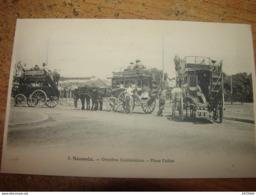 C.P.A.- Océanie - Nouvelle Calédonie - Nouméa - Omnibus Calédoniens - Place Feillet - 1910 - SPL (R40) - Nouvelle-Calédonie
