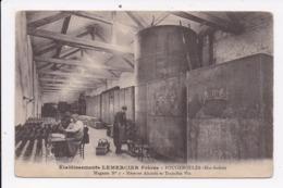CP 70 FOUGEROLLES Etablissement Lemercier Magasin N°7 Reserve Alcools - France