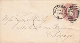 ETATS-UNIS - Entier Postal De Chicago Pour Chicago - 1901-20