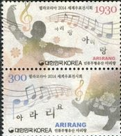COREE DU SUD Philakorea 2014-musique 2v  Neuf ** MNH - Corée Du Sud