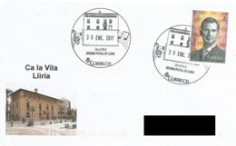SPAIN. POSTMARK CA LA VILA. LLIRIA. 2017 - España