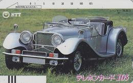 Télécarte Ancienne Japon / NTT 230-040 - Vieille VOITURE - OLDTIMER CAR Japan Front Bar Phonecard - AUTO Balken TK  3360 - Voitures