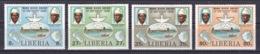 Liberia - 1980 - ( Mano River Agreement, 5th Anniversary ) - Complete Set - MNH** - Liberia