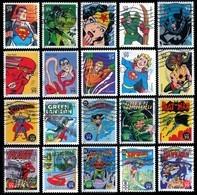 Etats-Unis / United States (Scott No.4084e - DC Comic Book Super Heroes) (o) - Oblitérés