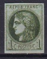 FRANCE - 1 C. FAUX - 1870 Ausgabe Bordeaux