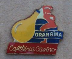 Pin's Boisson 017, Orangina - Cafétéria Casino - Bebidas