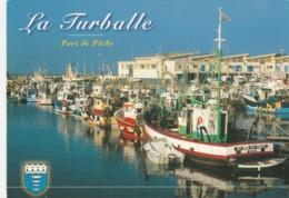 REF.HOO . CPM . 44 . LA TURBALLE . PORT DE PÈCHE ET STATION BALNÉAIRE - La Turballe