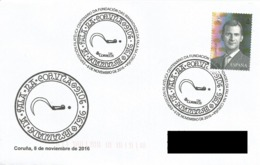 SPAIN. POSTMARK. 100th ANNIV. FOUNDATION DAS IRMANDADES DA FALA. CORUÑA 2016 - España
