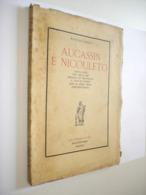 RARE. E.O. RAOUL DE CANDAULO, AUCASSIN E NICOLETTO, 1930, FELIBRIGE AIX PROVENCE - 1901-1940