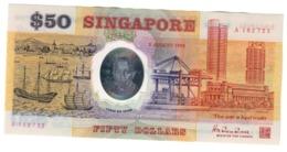 Singapore 50 Dollars 09/08/1990 UNC .PL. - Singapur