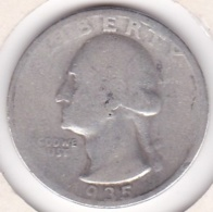 Etats-Unis , Quarter Dollar 1935, Washington , En Argent - Emissioni Federali
