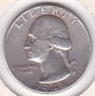 Etats-Unis , Quarter Dollar 1948 , Washington , En Argent - Federal Issues