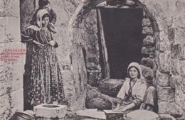 Jérusalem - Femme Boulangère - Israel