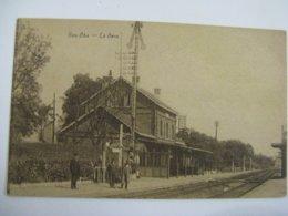 Ancien Carte Postale De Bas-oha  La  Gare - Andere