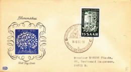 SARRE - 1951 - FDC : Exposition Horticole De Mittlebexbach - FDC
