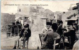 ASIE  - SYRIE - LATTAQUIE --  Un Café - Fumeurs De Narguileh - Syrie