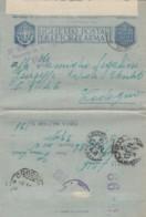BIGLIETTO POSTALE FRANCHIGIA 1943 PM 138 (IX623 - 1900-44 Vittorio Emanuele III
