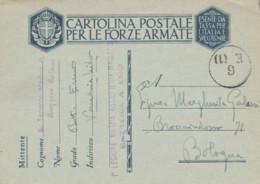 CARTOLINA FRANCHIGIA I LEGIONE MILIZIA (IX615 - 1900-44 Vittorio Emanuele III