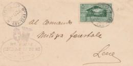 LETTERA 1930 C.25 VIRGILIO TIMBRO SOLETO (IX845 - 1900-44 Vittorio Emanuele III