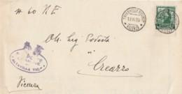 LETTERA 1938 25 C. PROCL IMPERO TIMBRO TAVERNELLE VICENZA (IX735 - Marcophilia