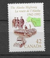 1992 MNH Canada Mi 1268 - 1952-.... Elizabeth II