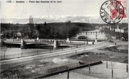 Suisse    GENEVE  . PONT DES ACACIAS  ET LE JURA - GE Geneva