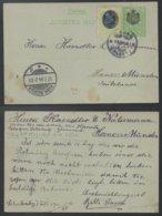 SERBIE / 1904 ENTIER POSTAL & COMPLEMENT POUR L ALLEMAGNE (ref LE532) - Serbie
