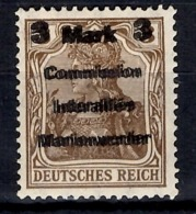 Marienwerder Michel N° 24 Belle Variété Double Surcharge Neuf *. B/TB. A Saisir! - Germany