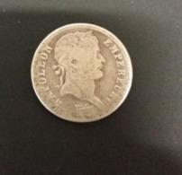 50 Centesimi O Mezzo Franco 1808 A Napoleone I° Demi Franc Laureate Head - France