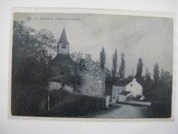 Ancien Carte Postale De Bas-oha  L église Et Le    Centre - Andere