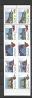 1993 MNH Canada Mi 1356-60 Booklet - 1952-.... Elizabeth II