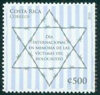 COSTA RICA En Mémoire De L'Holocauste 1v Neuf ** MNH - Costa Rica