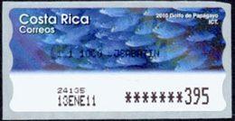 COSTA RICA Distributeurs Poissons 4v Neuf ** MNH - Costa Rica