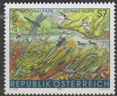 Autriche Europa 1999 N° 2116 ** Reserves Et Parcs - Europa-CEPT