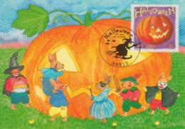 Carte-Maximum FRANCE N°Yvert 3428 / Halloween - 2000-09