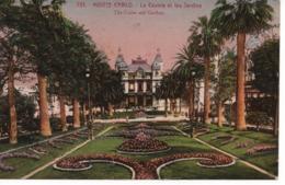 MONTE CARLO - LE CASINO ET LES JARDINS - Monte-Carlo