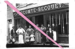 BLANGY Sur BRESLE   Environs  BOUTTENCOURT  Grande Rue  Maison LECOMTE-BECQUET  Reproduction - Blangy-sur-Bresle