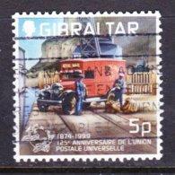 GIBRALTAR, USED STAMP, OBLITRERÉ, SELLO USADO, - Gibraltar