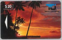 PHONE CARD-COOK ISLAND (E47.25.5 - Isole Cook